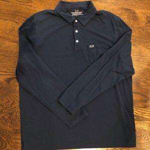 Men's Vineyard Vines Edgartown Long Sleeve Polo
